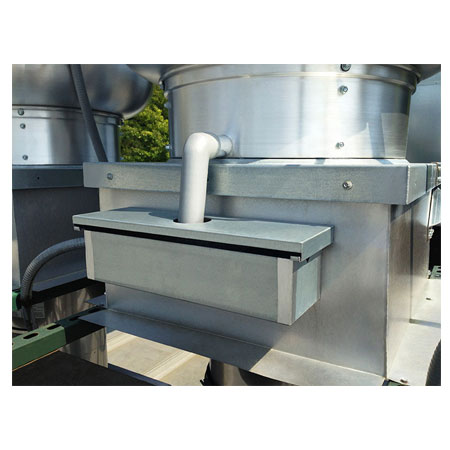 Grease Exhaust Fan Pan