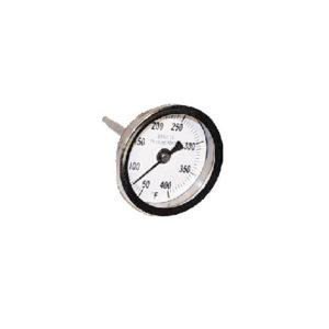 TEMPERATURE GAUGE 50-400F 3000PSI 1/4MPT